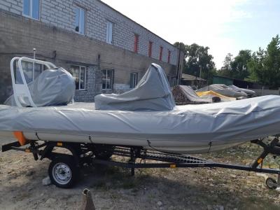 изготовить чехол для лодки
