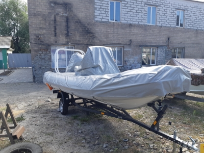 тентовый чехол для лодки